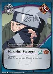 Kakashi's Foresight - M-030 - Rare - 1st Edition