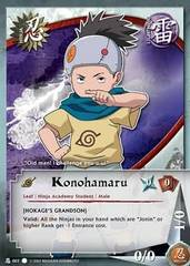 Konohamaru - Common A - N-007 - Common - 1st Edition