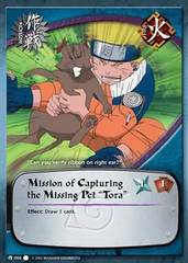 Mission of Capturing the Missing Pet Tora - M-006 - Common - 1st Edition