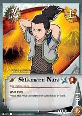 Shikamaru Nara - N-005 - Common - 1st Edition
