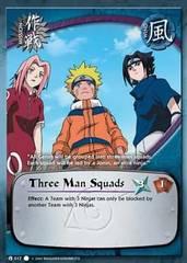 Three Man Squads - M-017 - Common - 1st Edition