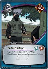 Admonition - M-216 - Uncommon - 1st Edition