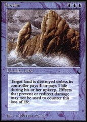 Erosion on Channel Fireball