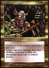 Scarwood Goblins on Channel Fireball
