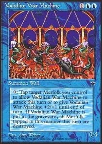 Vodalian War Machine