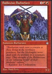 Balduvian Barbarians on Channel Fireball