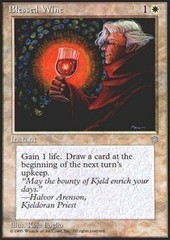 Blessed Wine on Channel Fireball