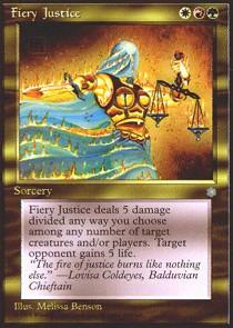 Fiery Justice