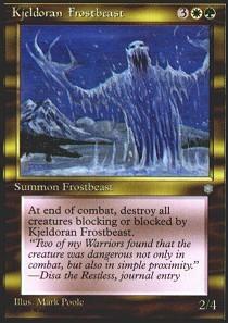 Kjeldoran Frostbeast