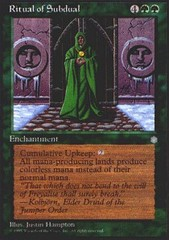 Ritual of Subdual - Reserved List