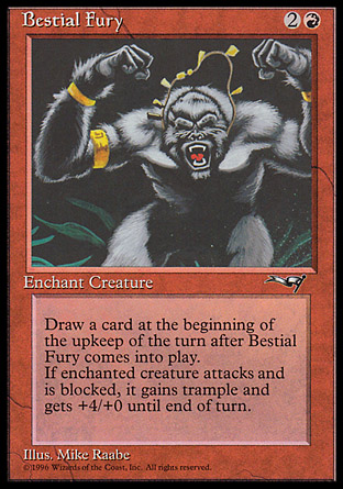 Bestial Fury (Facing Front)
