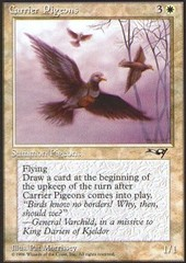 Carrier Pigeons (Sky) on Channel Fireball