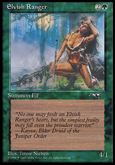 Elvish Ranger (Female) on Channel Fireball