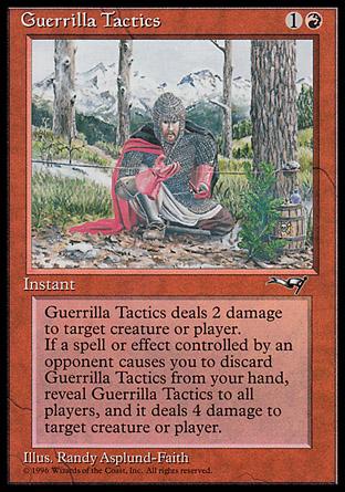 Guerrilla Tactics (Kneeling Knight)