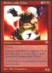 Emberwilde Djinn on Channel Fireball