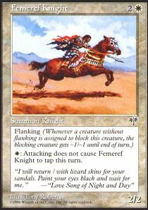 Femeref Knight