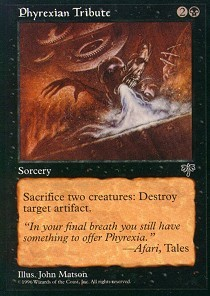 Phyrexian Tribute