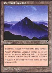 Dormant Volcano on Channel Fireball