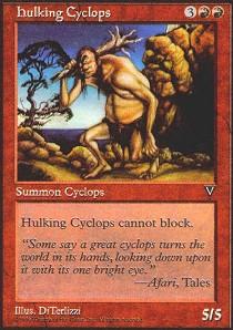 Hulking Cyclops