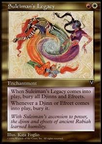 Suleimans Legacy