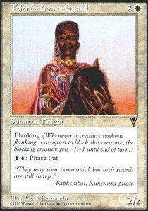 Teferis Honor Guard