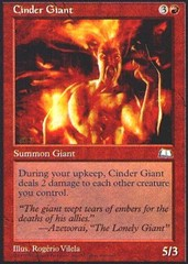 Cinder Giant on Channel Fireball
