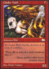 Cinder Wall on Channel Fireball