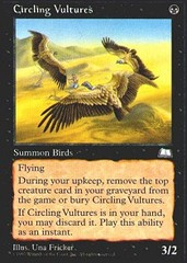 Circling Vultures on Channel Fireball