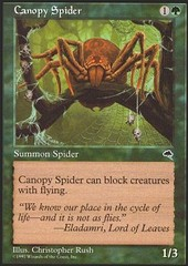 Canopy Spider on Channel Fireball