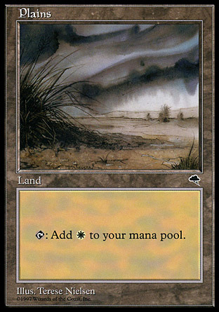 Plains (Bush on the left, grey sky)