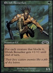 Elvish Berserker on Channel Fireball