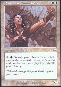 Ramosian Commander
