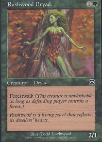 Rushwood Dryad