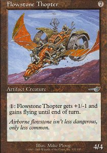 Flowstone Thopter