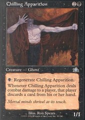 Chilling Apparition on Channel Fireball