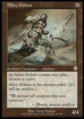 Alloy Golem on Channel Fireball