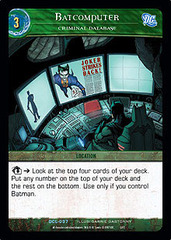 Batcomputer, Criminal Database