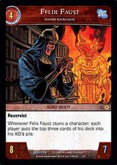 Felix Faust, Dark Bargain