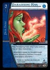 Paralyzing Kiss
