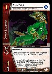 G'Nort, Green Lantern of G'Newt