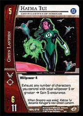 Katma Tui, Green Lantern of Korugar