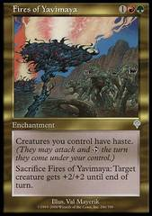 Fires of Yavimaya on Channel Fireball