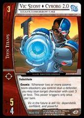 Vic Stone Cyborg 2.0, Titans Tomorrow East