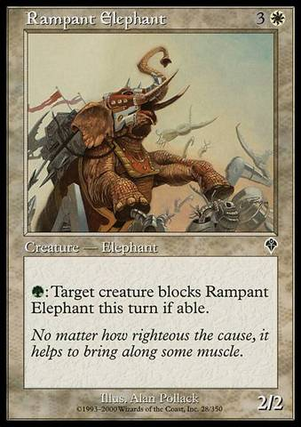Rampant Elephant