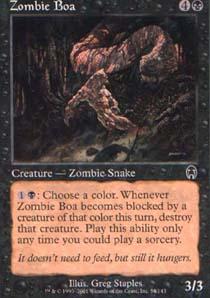 Zombie Boa