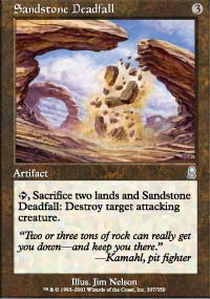 Sandstone Deadfall