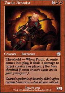 Pardic Arsonist