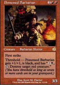 Possessed Barbarian