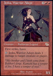 Jeska, Warrior Adept