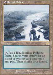 Polluted Delta on Channel Fireball